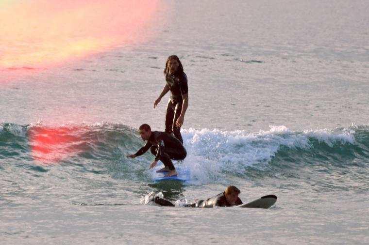 Tandem-Surfen